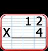 multiplication à 1 chiffre