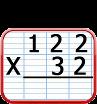 multiplication à 2 chiffres